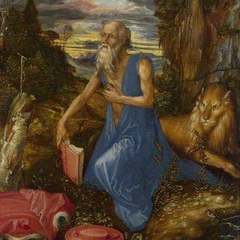 Święty Hieronim... w bajorze