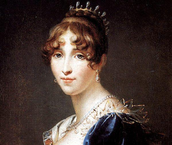 Gdyby nie wścibstwo Hortensji de Beauharnais, córki cesarzowej Józefiny, sprawki duczka lozańskiego prawdopodobnie nie wyszłyby na jaw. Obraz Françoisa Gérarda (źródło: domena publiczna).