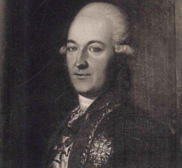 Repnin mógł poczuć się jak czwarte koło u dwukółki… Rosyjski ambasador na obrazie z 1779 roku.