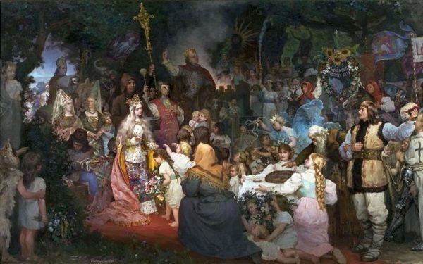 Czy chrzest Litwy był wart nieudanego małżeństwa i złamanego serca? A może związek Jagiełły i Jadwigi wcale nie był tak nieszczęśliwy, jak wszystkim się wydaje?