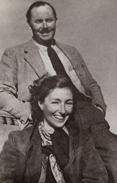 Krystyna Skarbek i Andrzej Kowerski.