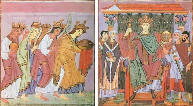 Tym razem to nie narody przyszły do cesarza... tylko cesarz do Gniezna (źródło: domena publiczna).