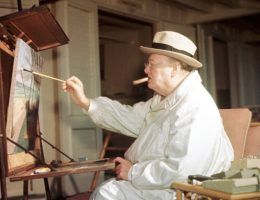 winston churchill painter kempner gallery washington st louis