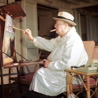 winston churchill painter kempner gallery washington st louis