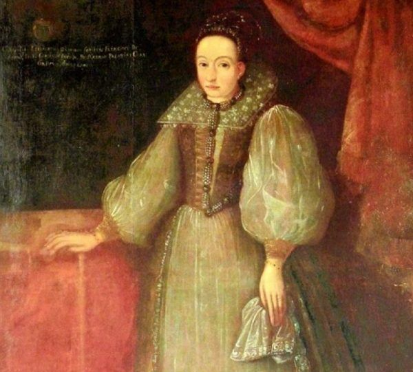Portret 30-paroletniej Elżbiety pędzla nieznanego artysty.