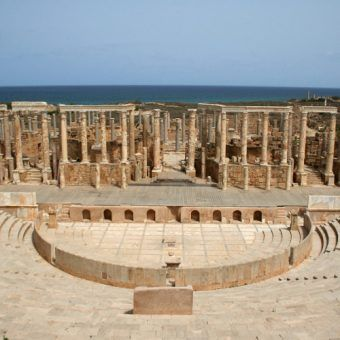 Leptis Magna amfiteatr