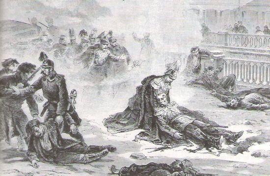 Siódmy zamach na cara i pierwszy udany. 13 marca 1881 roku.
