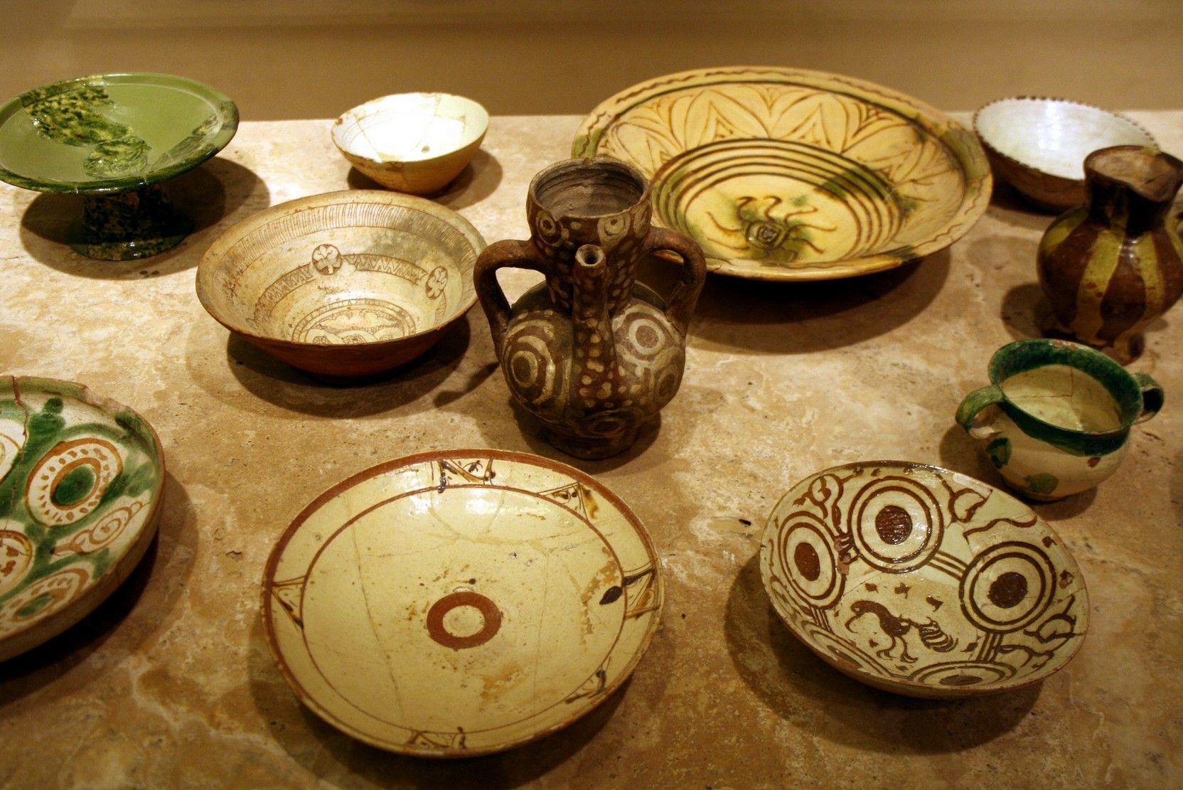 A na czym zjeść? Chociażby na takiej bizantyjskiej zastawie z ok. XI wieku (fot. G.dallorto).
