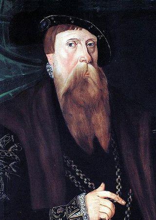 Gustaw I. Ojciec Eryka i założyciel dynastii Wazów.