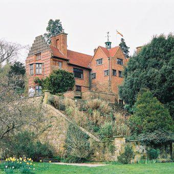 Chartwell House. To tutaj Churchill dawał upust swoim murarskim ciągotom (fot. Eugene Regis, CC BY 2.0).