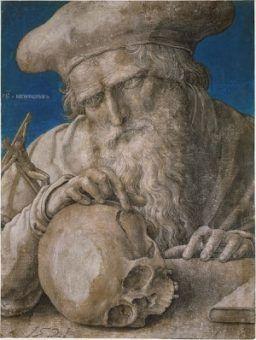 Pytanie tylko czy brzdąc wychowywany metodami świętego Hieronima nie skończyłby czasem jak ta czaszeczka...