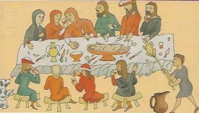 Wieczerza w stylu bizantyńskim