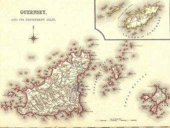 A to i wyspa Guernsey w pełnej okazałości.