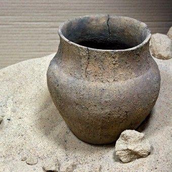 Popielnica kultury łużycka. To właśnie o naczyniach tego typu pisał Długosz (fot. Dariusz Cierpiał, lic. CC BY-SA 3.0).