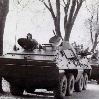 kolumna wojsk polskich pazdziernik 1968 r. zrodlo pajorek leszek polska a praska wiosna warszawa 1998