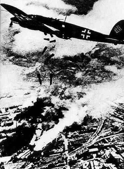 Bombardowanie Warszawy we wrześniu 1939 roku