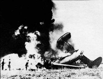 B-24 już na ziemi...