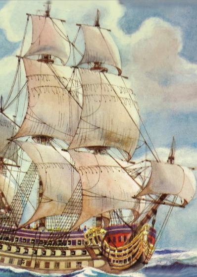 """""""Pływająca wyspa"""" barbarzyńców zza oceanu."""