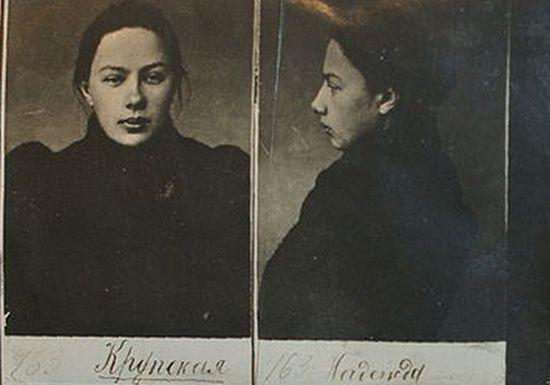 Nadieżda Krupska jako osoba będąca pod nadzorem Ochrany nie mogła udawać żony Lenina, ale niedługo zostanie nią naprawdę.