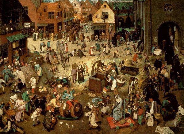 Średniowieczne miasta do czystych i uporządkowanych miejsc nie należały...