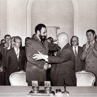 Chruszczow i Castro