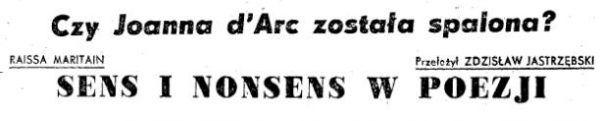 """W ostatnim numerze """"Tygodnika Powszechnego"""" było wszystko tylko Stalina zabrakło..."""