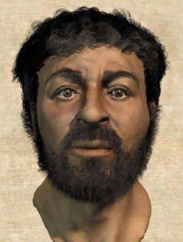 To też wizerunek Chrystusa, tylko jakoś niezbyt podobny do aryjskiego ideału