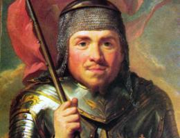 Władysław Łokietek w wyobrażeniu Marcello Baciarellego.