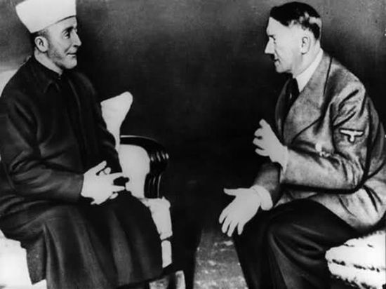 Mufti podczas spotkania z Hitlerem. Co gdyby udało mu się go przekonać do świętej wojny?