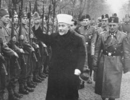 Wielki Mufti wita swoich żołnierzy...