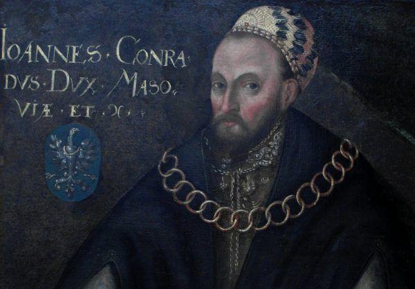 Książę Konrad III Rudy zostawiając dwóch synów nie spodziewał się tak rychłego końca dynastii. XVI-wieczny portret księcia Konrada III (fot. Mathiasrex, Maciej Szczepańczyk, lic. CC BY-SA 3.0).