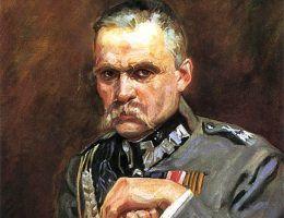 Piłsudski dla miłości był nawet gotów nawet ukorzyć się przed carską administracją.
