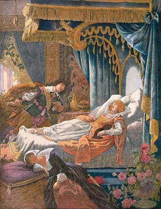 Okazuje się, że śpiąca królewna to tak naprawdę historia gwałtu i relacji z teściową.