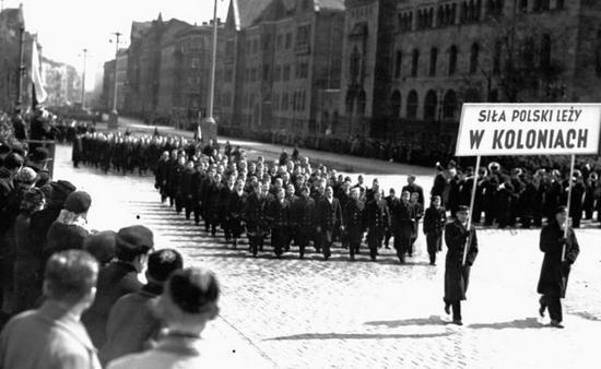 No i jeszcze raz dni kolonialne. Tym razem Poznań w 1938 roku.