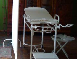 Fotele ginekologiczne od czasów międzywojnia nie zmieniły się aż tak bardzo...