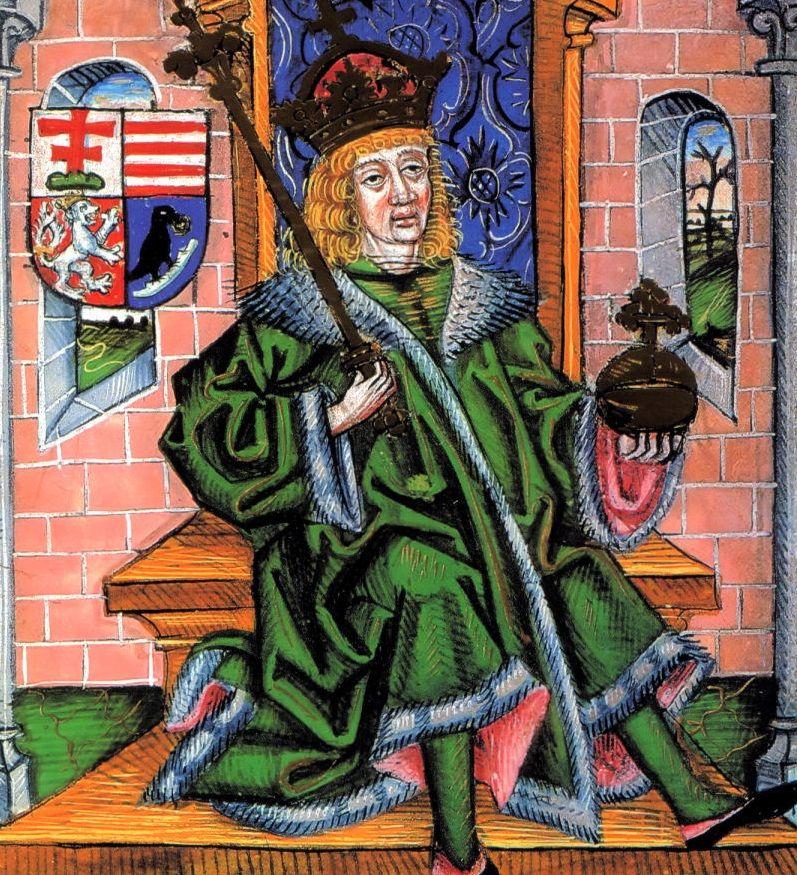 Władowi w końcu udało się spowinowacenie z królem Węgier Maciejem Korwinem. Wybranka jednak nie była już panną... a po śmierci Włada jeszcze dwukrotnie stawała na ślubnym kobiercu (źródło: domena publiczna).