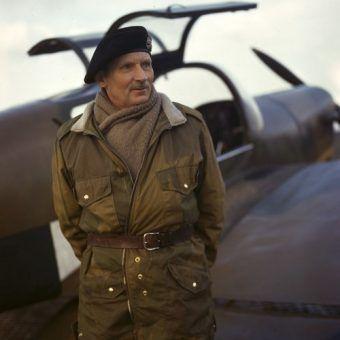 Generał Bernard Montgomery, człowiek który zawsze wiedział wszystko najlepiej (Wikimedia Commons, domena publiczna).