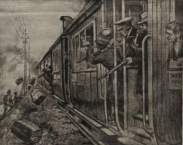 Napad na pociąg... zaraz pod Warszawą.