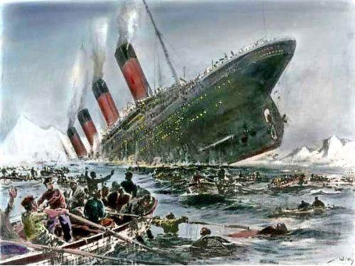 Titanic szedł na dno, a wraz z nim pasażerowie. Prawdopodobieństwo ocalenia było większe w przypadku ukochanego pieseczka kolonialnej damy, niż mężczyzny, pasażera trzeciej klasy.