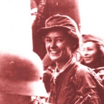 """Żołnierka ze zgrupowania """"Radosław"""""""