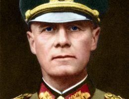 Erwin Rommel (fot. Bundesarchiv, Bild 146-1985-013-07 / koloryzacja 玖巧仔 / CC-BY-SA 3.0).