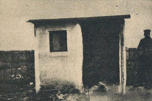 Altana, w której znaleziono zwłoki Gertrudy Hamacher oraz Louise Lenzen.