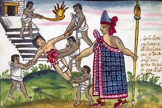Nie tylko Aztekowie składali krwawe ofiary z ludzi. Zwyczaj był popularny również wśród Europejczyków.