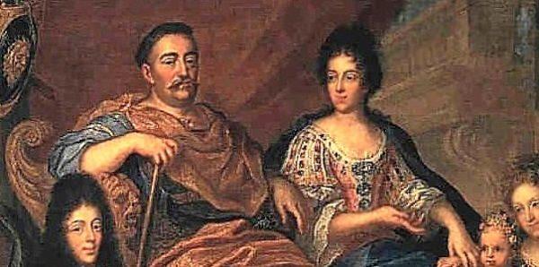 Kiedy trwało powstanie Chmielnickiego Sobieski i Marysieńka (na obrazie) znajdowali się na dwóch odległych krańcach Europy. Ona uczyła się w Nevers, gdzie rozkwitał powoli jej nastoletni wdzięk, a on walczył dzielnie ze zbuntowanymi kozakami na ogarniętej wojna Ukrainie.