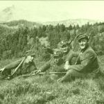 """Członkowie OP AK """"Wilk"""". To właśnie oni na Podhalu dawali się nieźle we znaki Niemcom. Zdjęcie z 1944 r."""