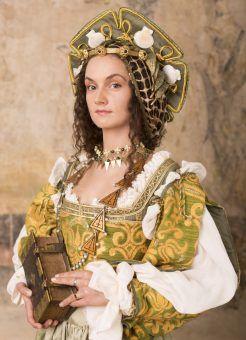 Anna Knybel jako Bona Sforza. W rzeczywistości to tak wyglądała najwybitniejsza polska królowa.
