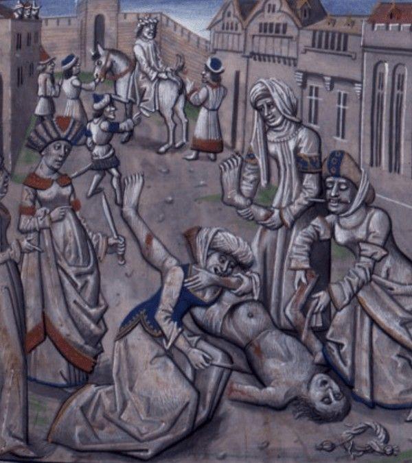Andronika spotkała zasłużona kara. Po kilku latach umarł brutalną i bolesną śmiercią. Ucięto mu rękę, wyłupiono oczy, skatowano i wydano na pastwę rozwścieczonego tłumu.