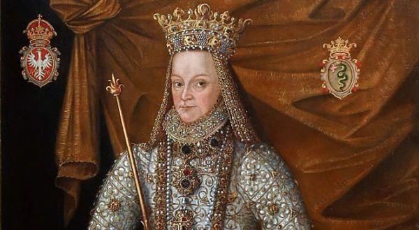 Anna Jagiellonka na portrecie koronacyjnym.