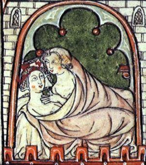 We wczesnym średniowieczu księża bez skrępowania wstępowali w związki małżeńskie. I wcale nie były to białe małżeństwa.