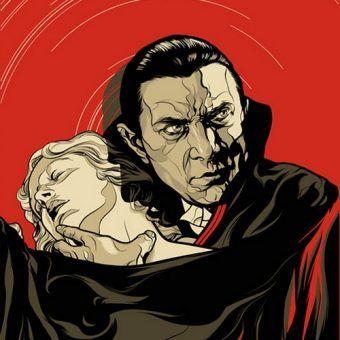 Czy to możliwie, że pierwowzorem seklerowskiego Drakuli nie był Wład Palonik, lecz Polak z Ukrainy? Na ilustracji fragment plakatu filmu Dracula z 1931 r.